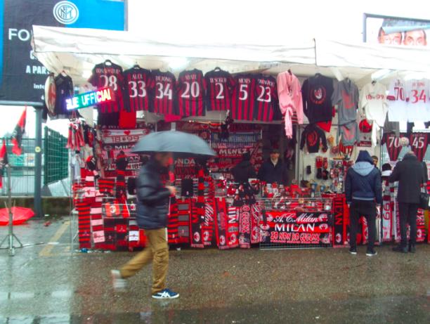 AC Milan scarves