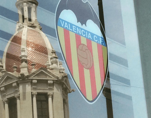 Valencia CF club shop