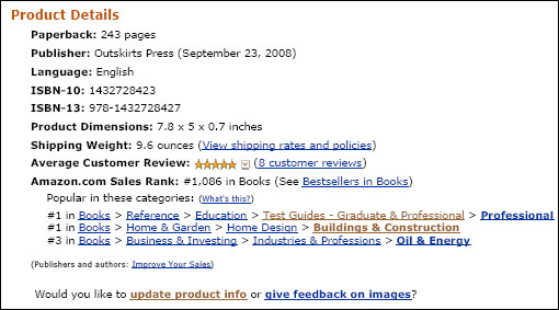 LEED AP Exam Guide, #1 Amazon Bestseller in Two Different Categories