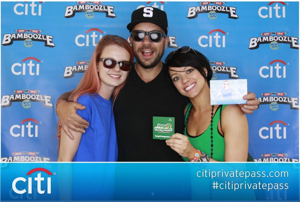 Citi Bank Music Festival Photo booth by OutSnapped