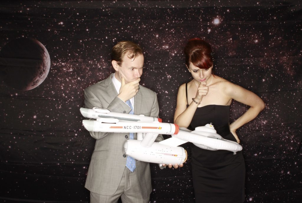 Star Trek Themed Premium Wedding Photo Booth by OutSnapped