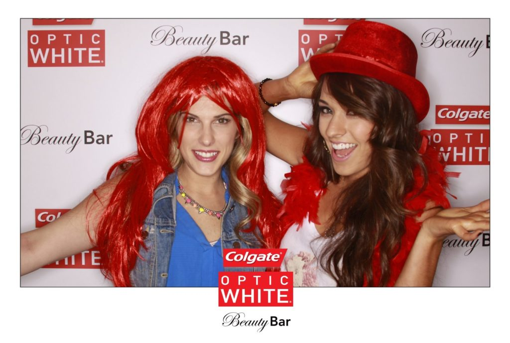 Colgate Optic White NY Fashion Week Photo Booth OutSnapped