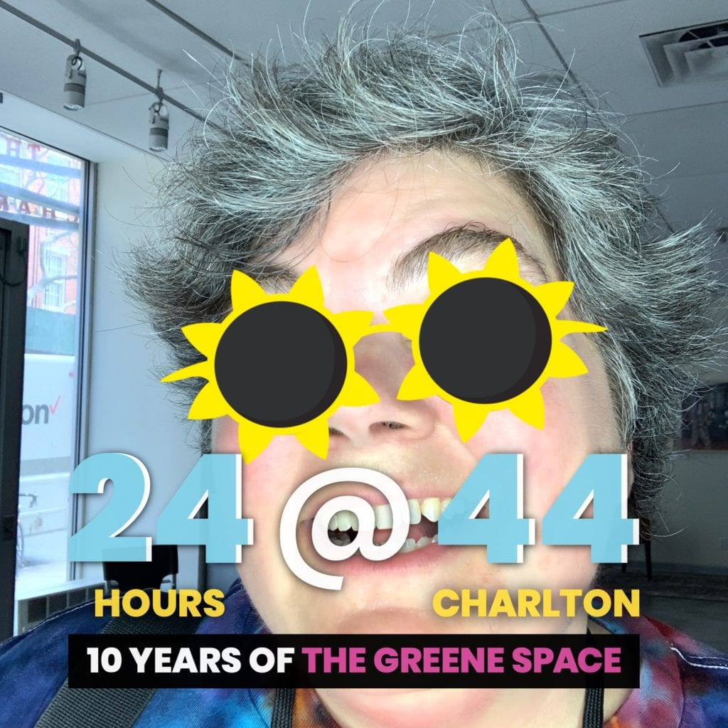 Augmented Reality Photo Booth Rental NYC for 24@44 Greene Space Photo Booth Activation by OutSnapped