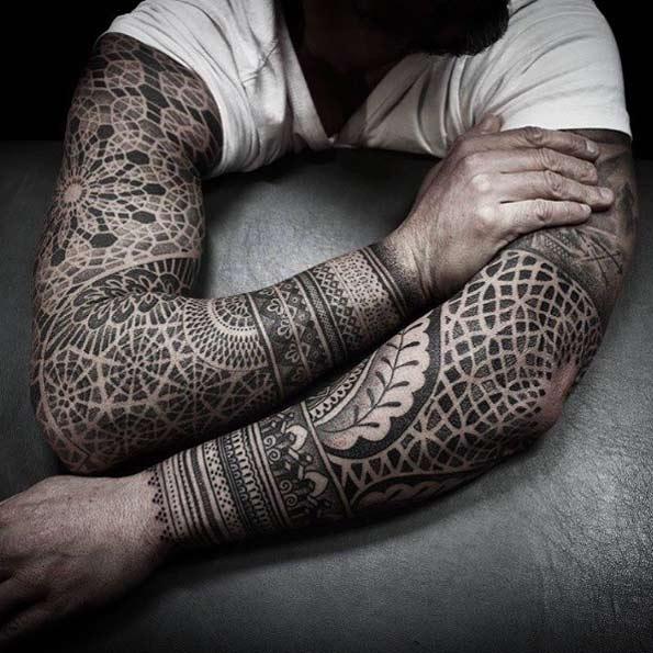 Amazing Arm Sleeve Tattoos