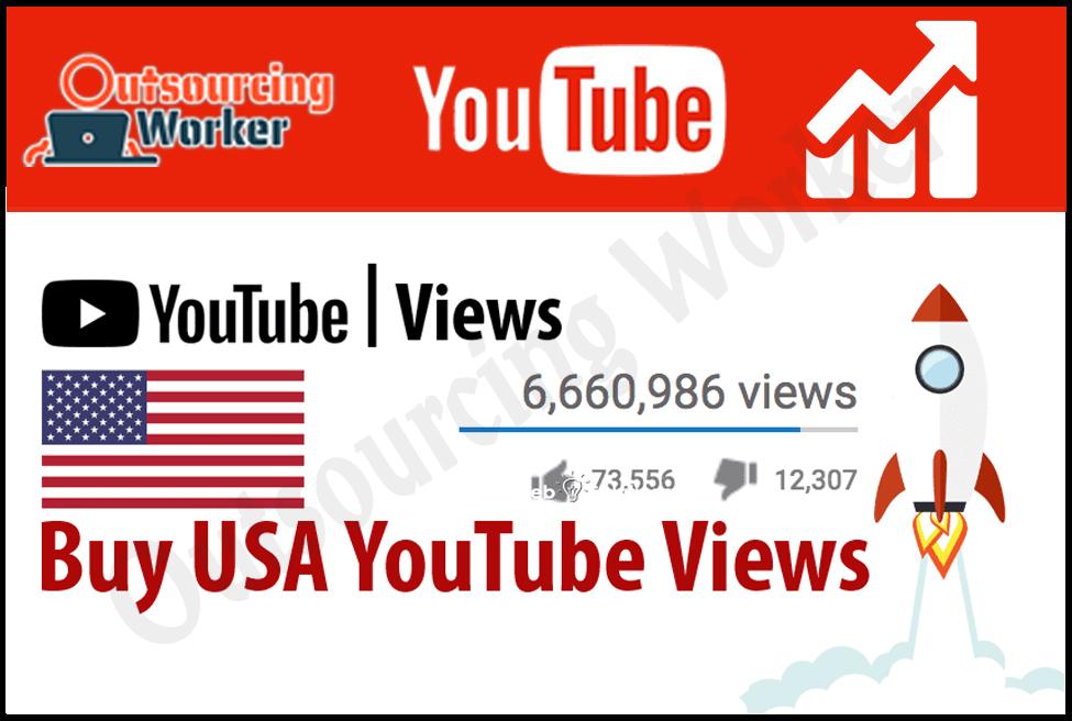 I Will Provide USA 1000 Youtube Video Views