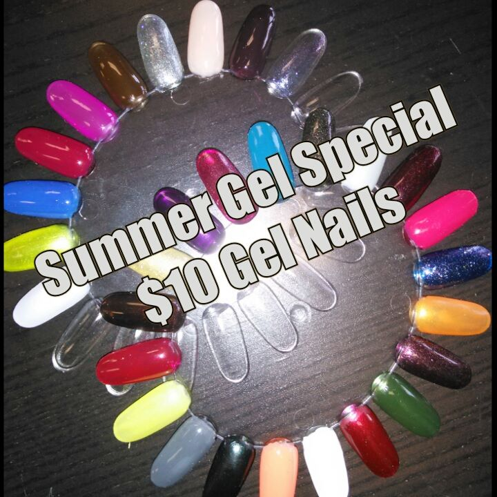 Summer Gel Special: $10 Gel Nails!