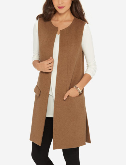 The Daily Find: Sleeveless Wool Vest
