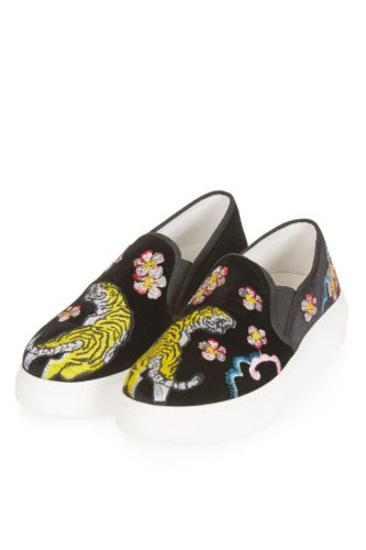 Lust Vs Must: Embellished Slip-On Sneakers