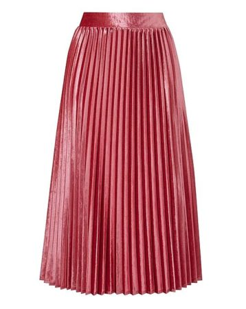 The Daily Find: Simply Be Velour Pleated Skirt