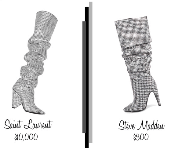 Lust Vs Must: Crystal Slouchy Boots