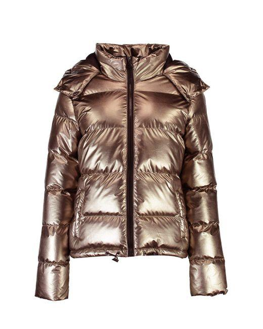 The Daily Find:  Metallic Padded Coat