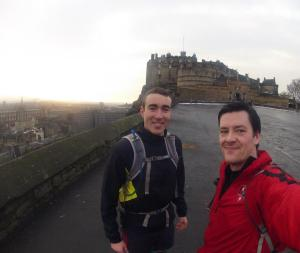 26 Miles to Edinburgh Castle