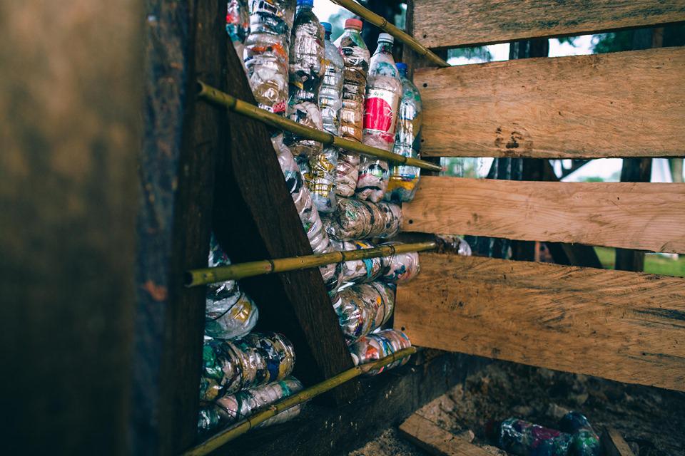 Ecoladrillos- Plastikmüll als Baumaterial