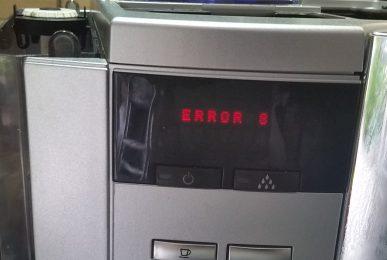 jura error 8