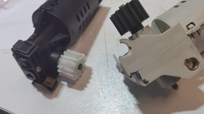 Jura Ena Motor Problem