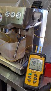 testing breville ntc sensors