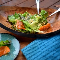 Shaved Persimmon & Walnut Salad