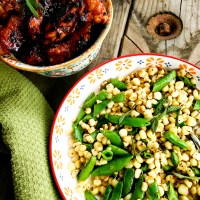 Sweet Corn & Snap Peas