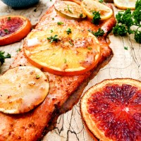 Sweet & Spicy Citrus Salmon