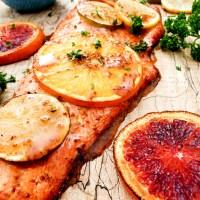 Sweet & Spicy Citrus Salmon