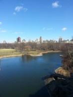 ... Turtle Pond, Central Park ... Turtle Pond (L'étang aux tortues), Central Park.