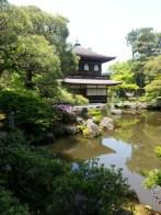 Silver Pavilion, Kyoto. Le pavillon d'argent, Kyoto.