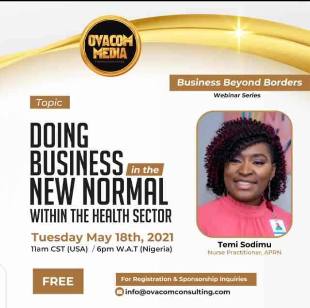Ovacom Media Set To Hold The Third Edition Of Her Business Webinar Series