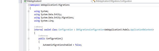 Extending and Customizing authentication mechanism in Web Applications using ASP .NET Identity (3/6)