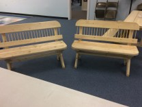 Handcrafted Benches