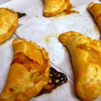 savory and sweet empanadas