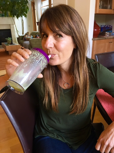 green smoothie a day for month of November
