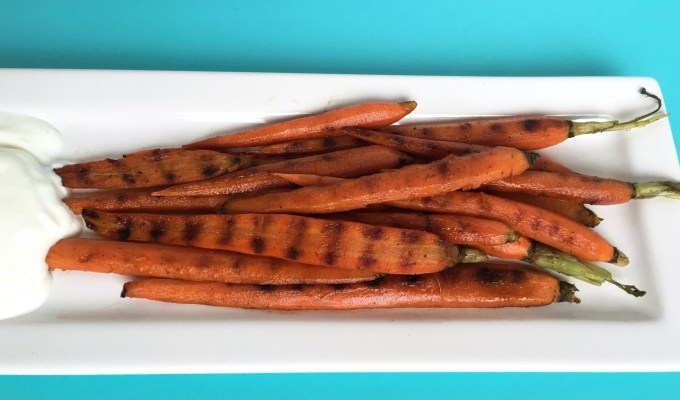 Grilled Cinnamon Carrots