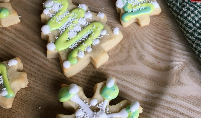 Fool Proof Cut Out Sugar Cookies for Santa!