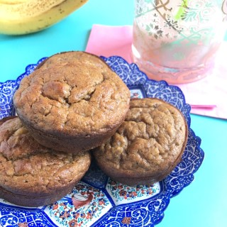 Teresa's Gluten-free Banana Bread Muffins