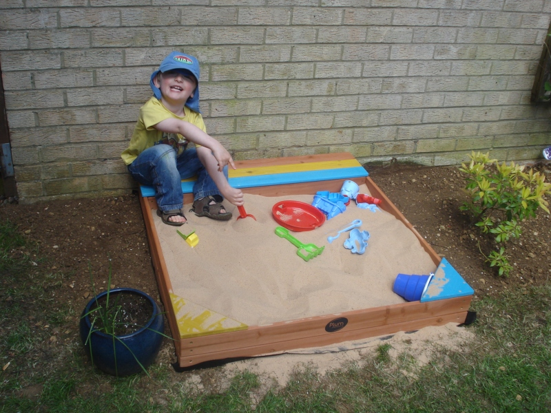 Plum Products Store-It Sandpit