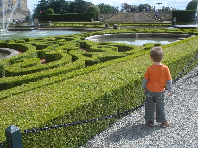 Messing around at the Palace, Blenheim Palace