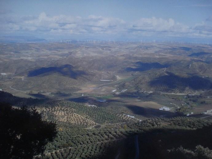 View from Penon mountain