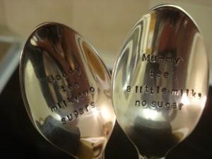 Cuppa Teaspoon Set, The Cutlery Commission