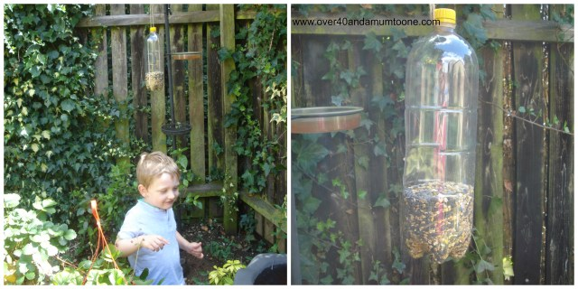 Make a bird feeder, RSPB, Make 'N' Do, Make your own bird feeder