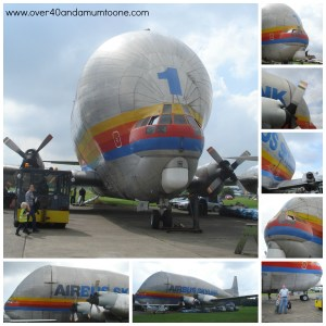 Meeting a Super Guppy, Bruntingthorpe