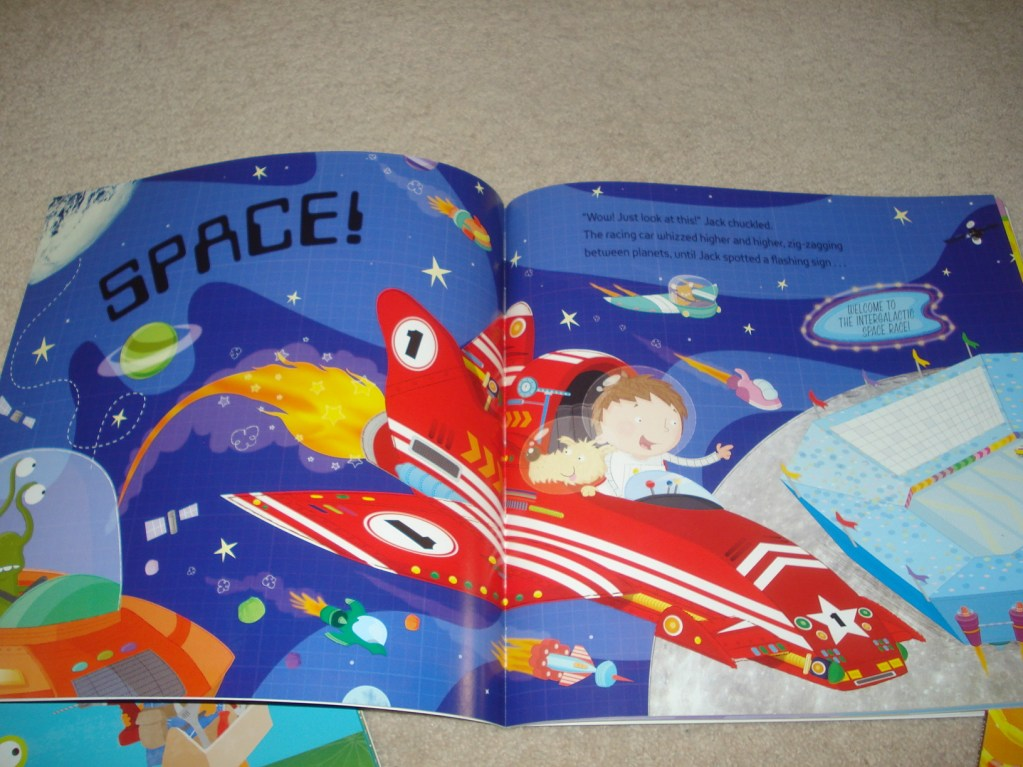 Space Themed Play