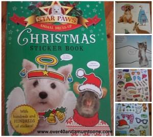 Star Paws Christmas Sticker Book