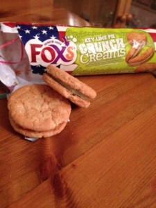 Biscuits with an American flavour