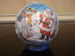 Ravensburger 3D Christmas bauble puzzles