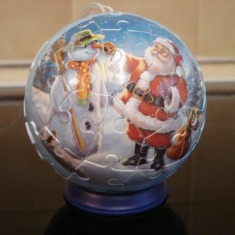 Ravensburger 3D Christmas bauble puzzles