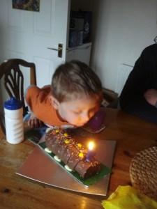 A birthday for Monkey