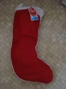 Stockings filled by Hawkins Bazaar