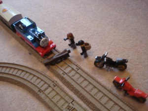The Great Train Robbery!