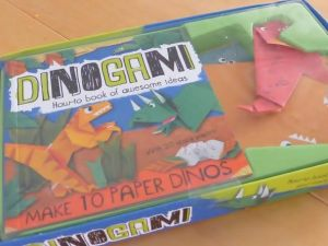 Blog Birthday Giveaway - Dinogami