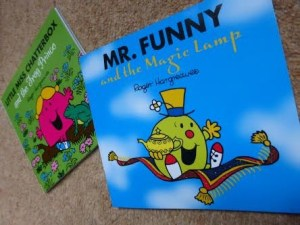 Blog Birthday Giveaway - Mr Funny and Little Miss Chatterbox